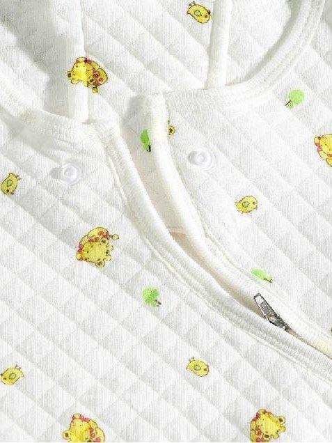 Wonderful Cartoon Deer Printing Baby Sleeping Bag