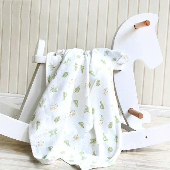 Wonderful High Quality Comfortable Green Baby Blanket