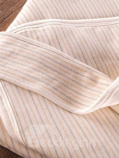 Super Comfortable Twill Stripes Beige Baby Sleeping Bag