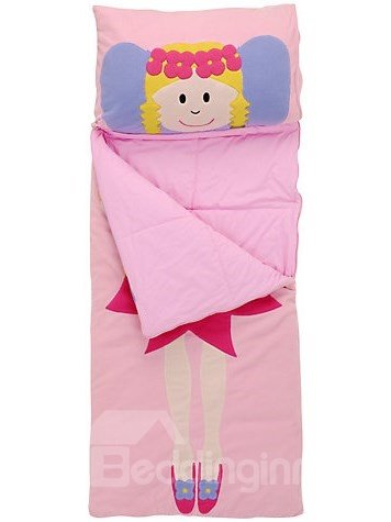 Beautiful Flower Fairy Design Baby Sleeping Bag