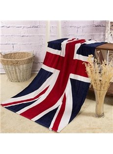 Creative Fashion Union Jack Pattern Bath Towel