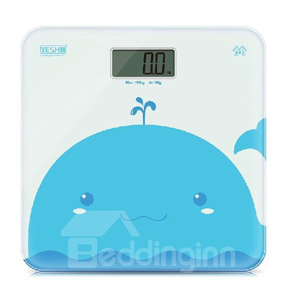 Fantastic Adorable Blue Whale Accurate Weight Scale