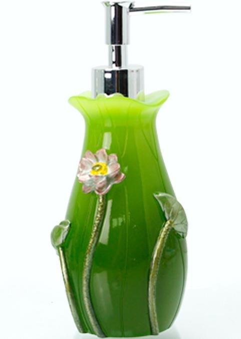 Fancy Creative Lotus Design 5-Pieces Bathroom Accessories