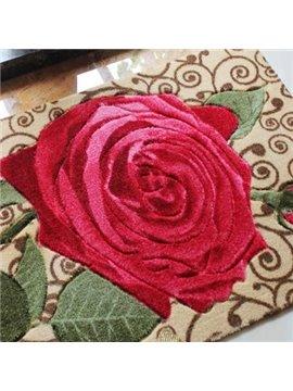 High Quality Wonderful Pretty Rose Closeup Doormat