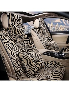 Amazing Super Popular Tiger Stripes Pattern Car Seat Cover