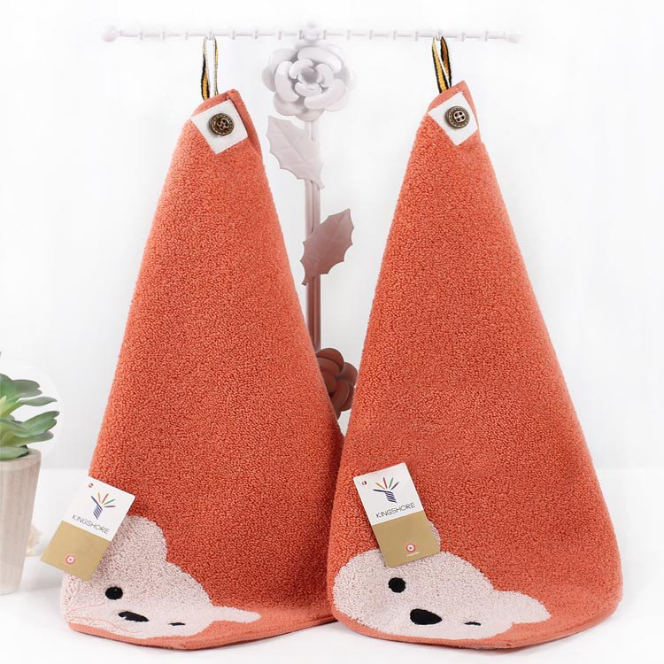 Hanging Bear Pattern 100% Cotton Face & Hand Towel