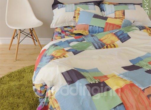 European Style Contemporary 100% Cotton Duvet Cover Sets