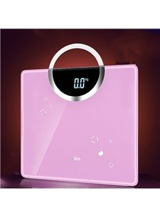 Fancy Creative Portable Tempered Glass Electronic Weight Scale