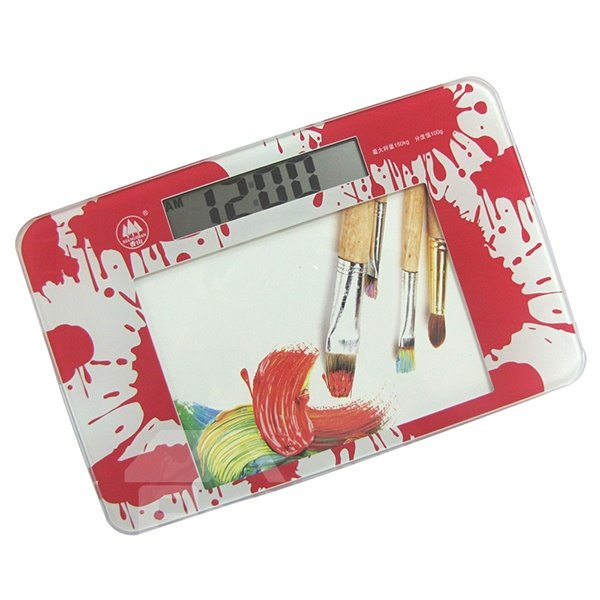 Unique Colorful Painting Design Mini Weight Scale