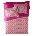 Vivid Water-Like Pattern Flowers Super Soft and Comfortable 3-Piece Bed in a Bag Set