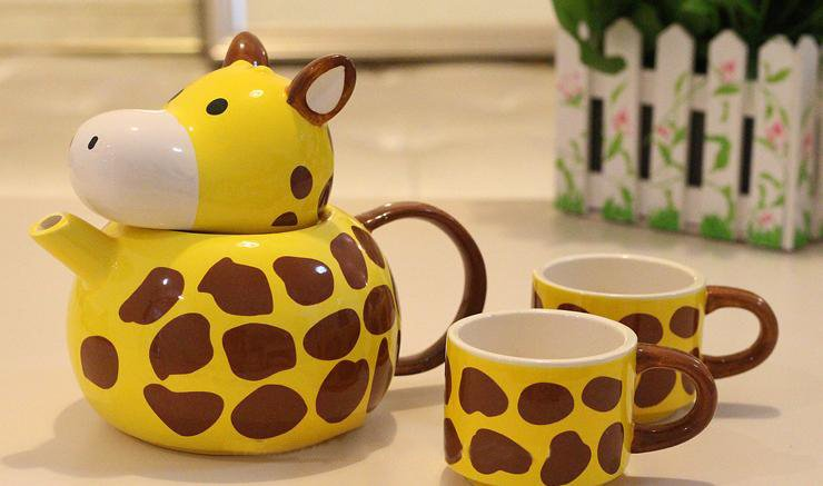 Beautiful Unique Giraffe Style Creative Cup Sets