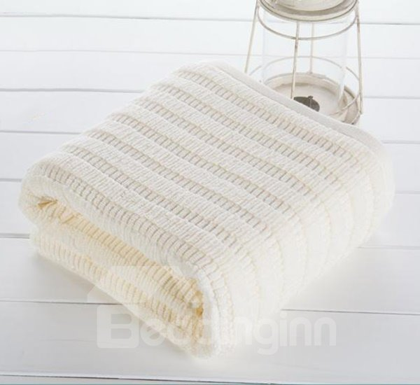 Comfy Full Cotton Solid Color Bath Towel