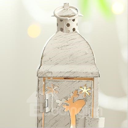 New Style Wonderful Elk Christmas Candles Holder