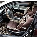 Fashion and Sexy Leopard Stripes Pattern Soft Universal Car Seat Covers