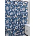 Unique Adorable Deer Print Polyester Shower Curtain