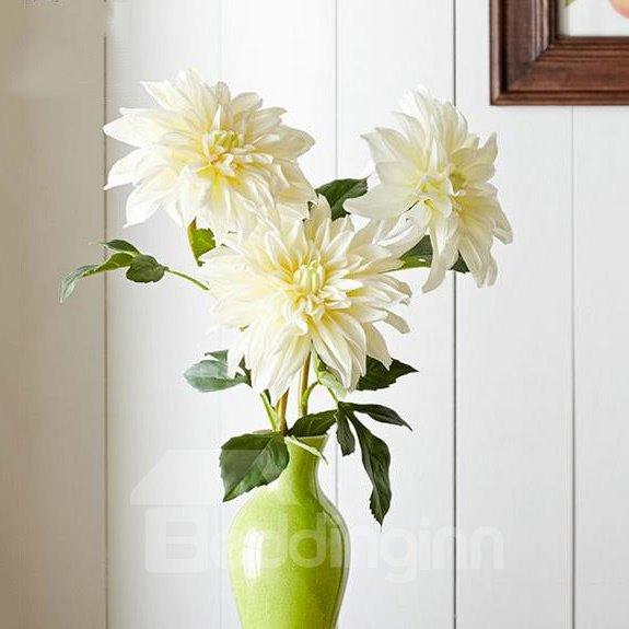 Wonderful Fresh 3-Pieces Dahlia Artificial Flowers