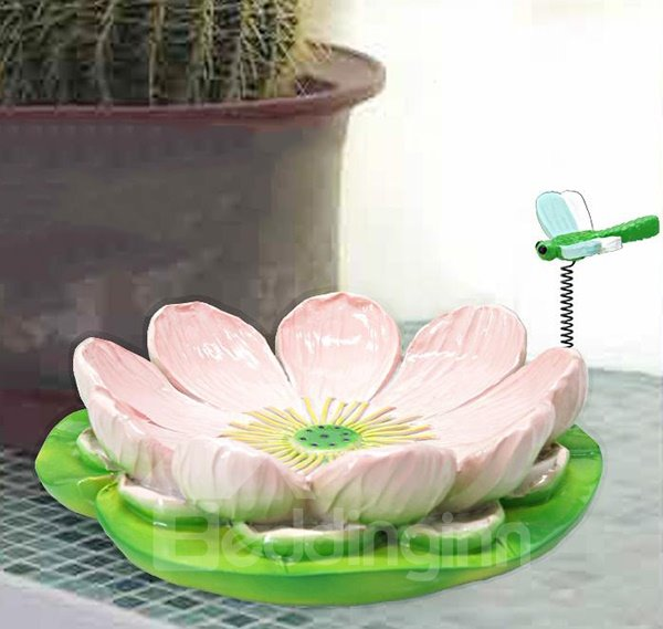 Graceful Beautiful Lotus Design Resin Soap Box