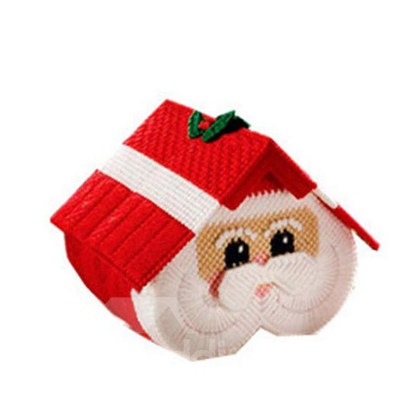 Fabulous Santa Claus House Image Toilet Paper Roll Holder