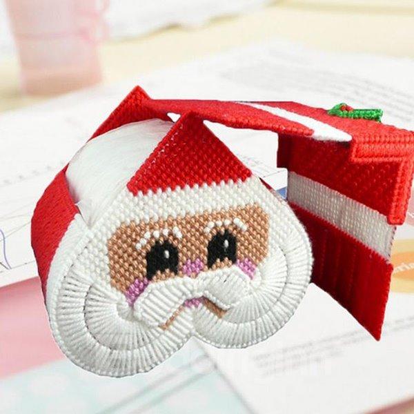 Fabulous Santa Claus House Image Toilet Paper Roll Holder