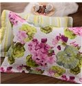 Lotus and Crabapple Flowers Pattern Ultra Soft and Comfortable Skincare Bed in a Bag Set