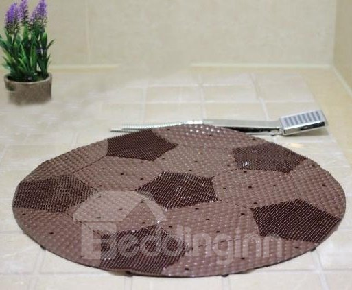 Unique Football Image PVC Skidproof Bath Mats