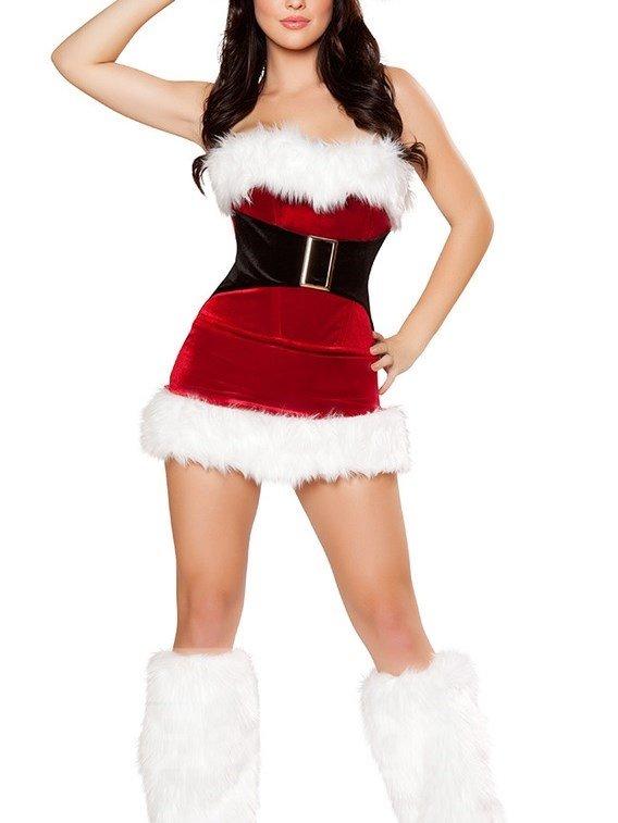 Sexy Mini Skirt Christmas Costume