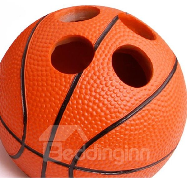 ... Unique Fashion Basketball Shaped 5 Pieces Bathroom Accessories