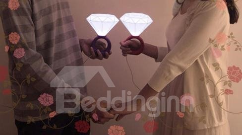 Wonderful Diamond Ring Shape LED Night Light