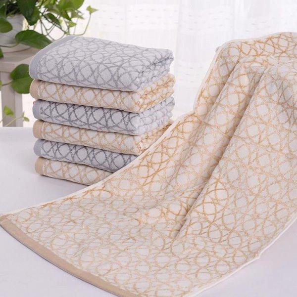 Comfy Unique Lantern Ring Pattern Cotton Towel