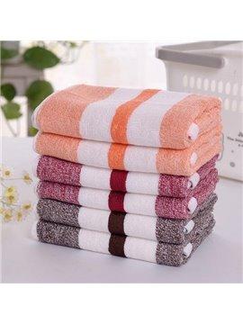 Chic Concise Fabuloua Colorful Stripe Cotton Towel