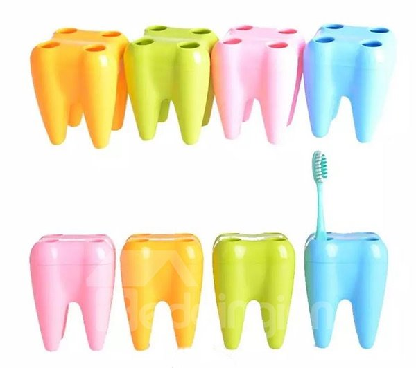 Hot Selling Creative Tooth Image Toothbrush Holder