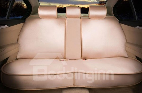 Solid Color All-Inclusives Style Ultra Comfortable 3D Car Seat Covers