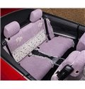 General Style Floral Section Pattern Ultra Comfortable Bright Car Seat Cover