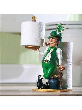 Gorgeous Adorable Little Man Toilet Paper Holder
