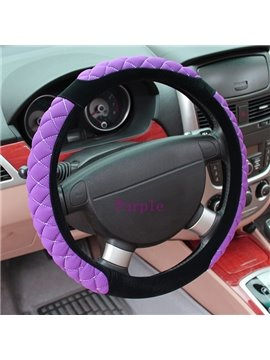 Cute and Lovely Ultra Soft and Comfortable Cloth Car Steering Wheel Cover