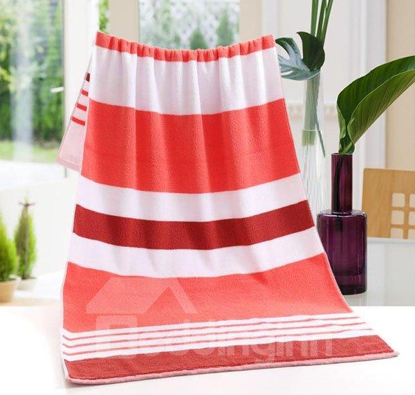Super Soft Chic Stripe Thick Cotton Bath Towel