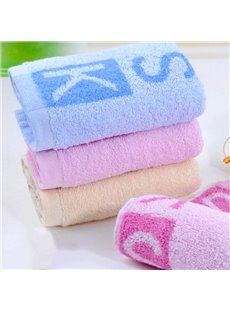 Wonderful Fashion Alphabet Design 100% Cotton Towel