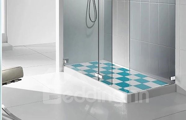 New Arrival Contemporary Anti-slip Splicing Bath Rug