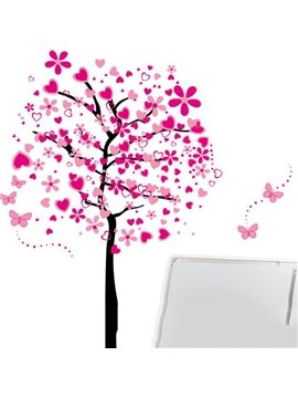Pretty Sweet Love Tree Pattern Wall Stickers