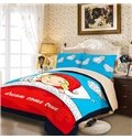 Beautiful Dream Print 3-Piece Polyester Duvet Cover Sets