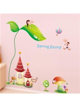 New Arrival Lovely Dream Castle Wall Stickers