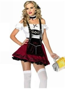 German Beer Festival Female Servant Costume
