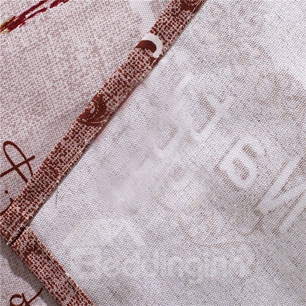 Fresh and Natural Turkish Style Cotton Printed Sheet