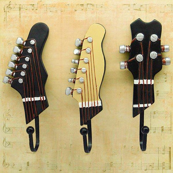 Special Musical Instrument Shape European 3-piece Hooks