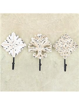 European Vintage Style High Quality Resin 3-piece Hooks