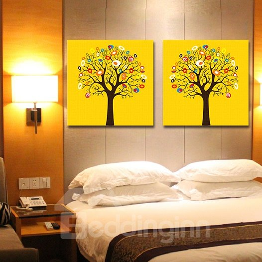Amazing Tree 2-Piece Crystal Film Art Wall Print