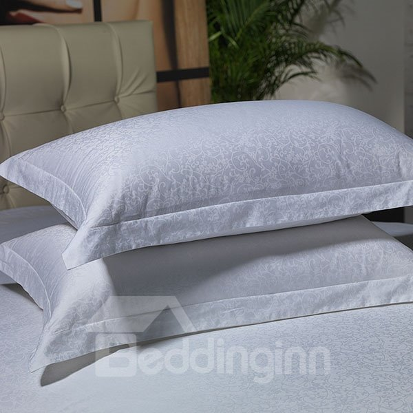 High Quality Morning Glory Printed 100% Cotton Pillowcase