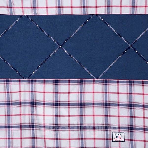 Western Cowboy Design 4-Piece Cotton Duvet Cover Sets