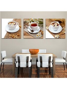 Wonderful Afternoon Tea 3-Piece Crystal Film Art Wall Print