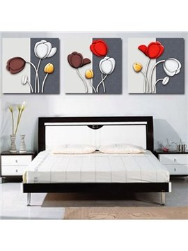 In Early Puberty 3-Piece Crystal Film Art Wall Print